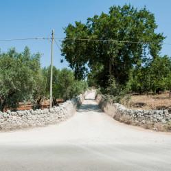 La strada che porta a Tre Casiedde