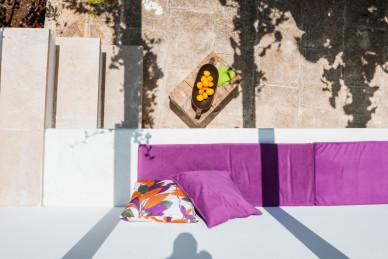 Un angolo della veranda visto dall'alto - Casa vacanze Tre Casiedde