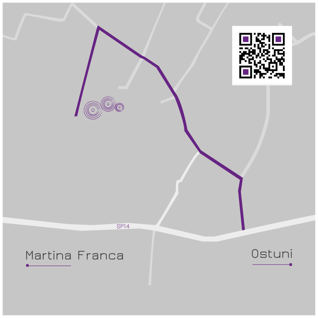 mappa per raggiungere trecasiedde-15