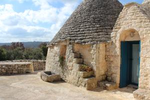 Il secondo ingresso della casa vacanze nei pressi di Ostuni