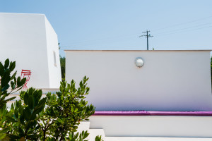 L'ampia e soleggiata veranda con cuscini - Tre Casiedde Casa Vacanze