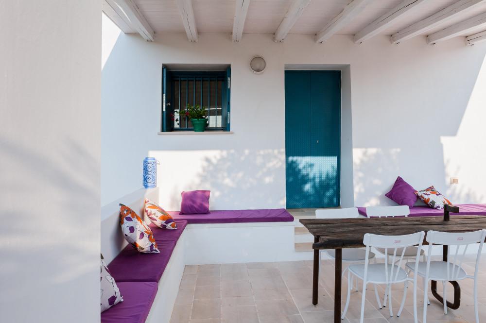 Ingresso principale in veranda - Tre Casiedde Casa Vacanze in Puglia