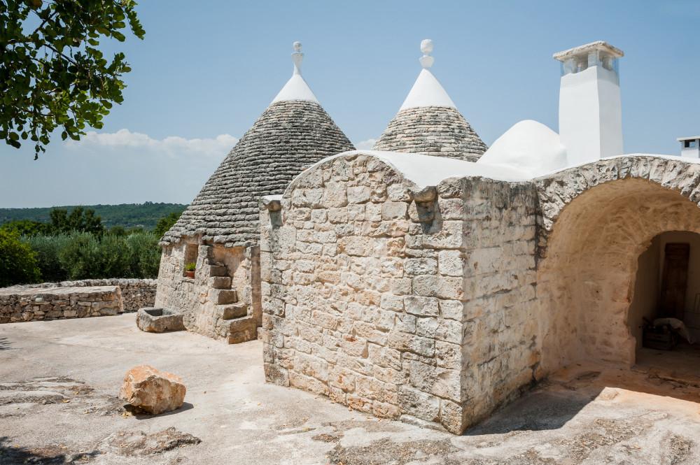 Il retro di Tre Casiedde, casa vacanze nei pressi di Ostuni
