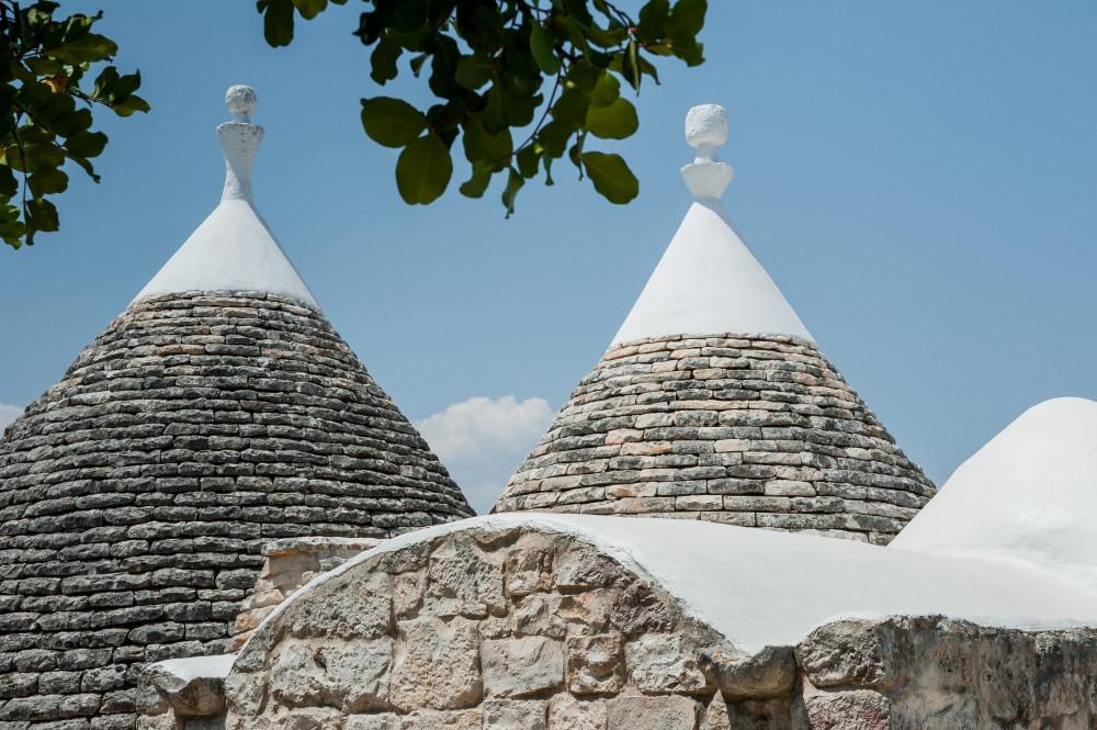 I due trulli di Tre Casiedde in Valle d'Itria