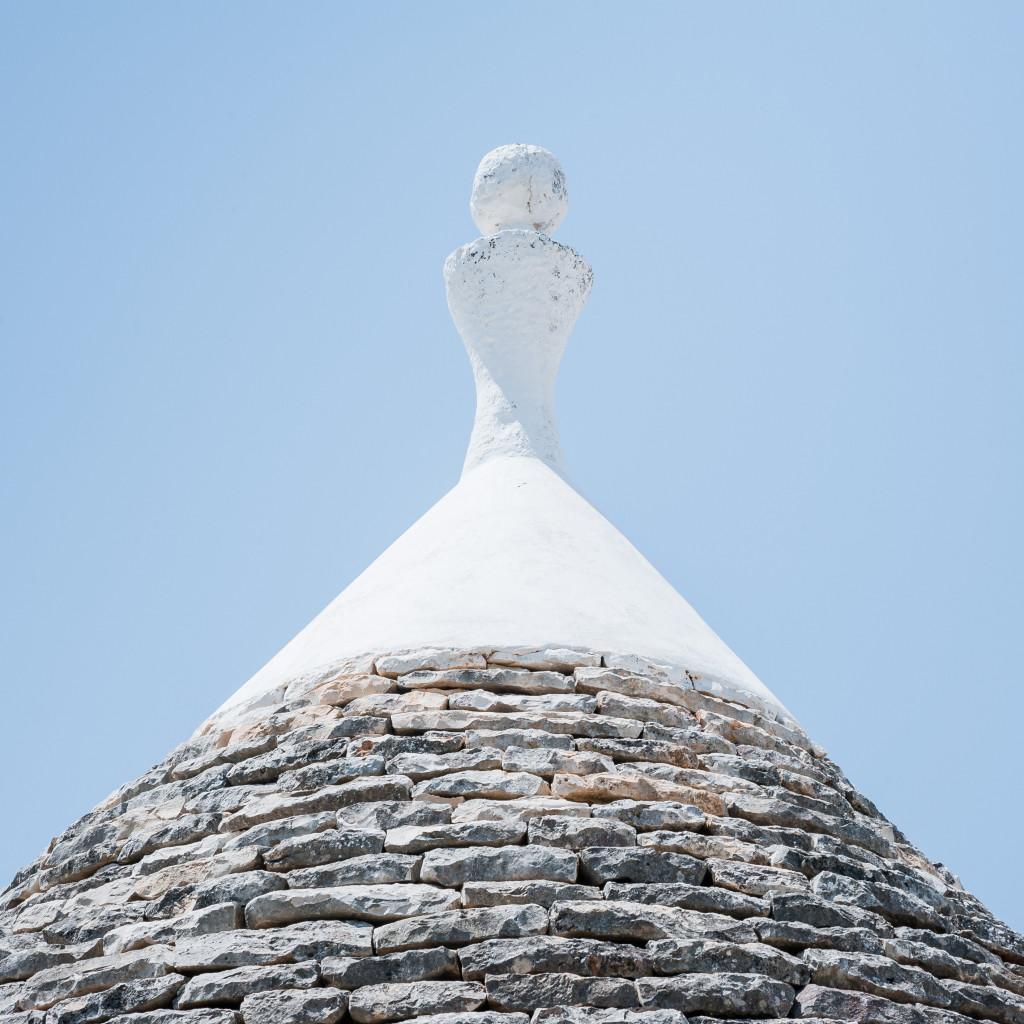 Il tetto di uno dei nostri bellissimi trulli in Puglia