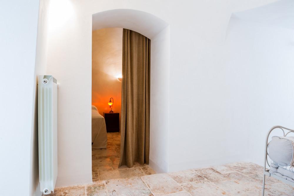 L'ingresso della stanza Carrubo