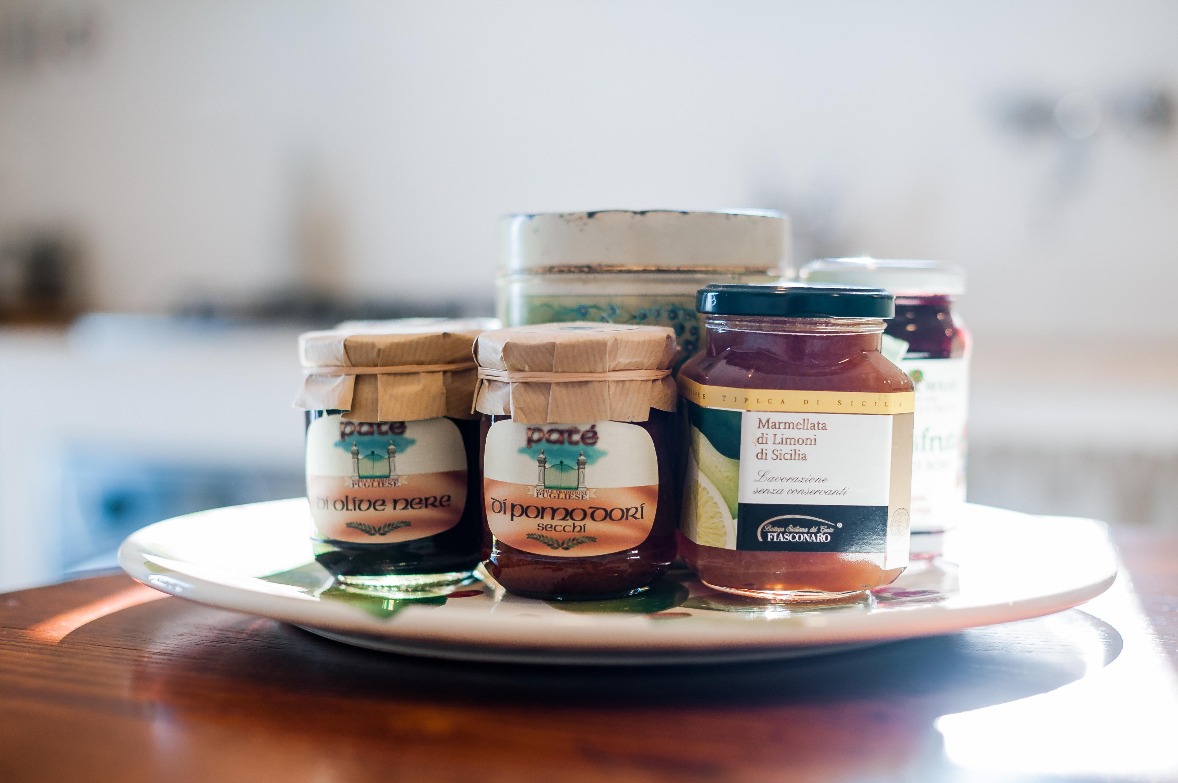 Marmellate e conserve locali renderanno il tuo soggiorno in Puglia davvero gustoso!