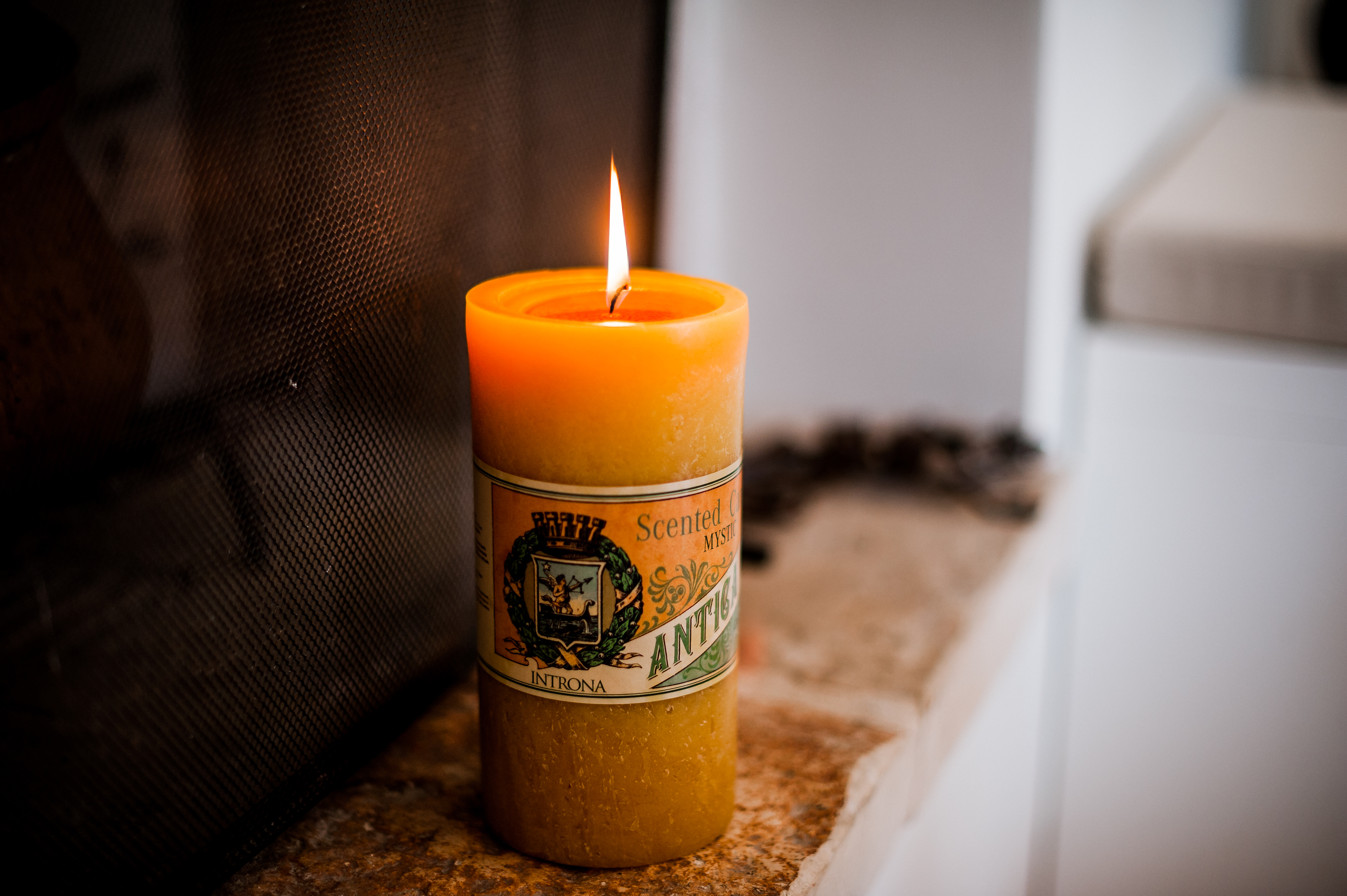 Le candele profumate creano un'atmosfera perfetta