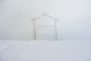 Il bianco è uno dei colori predominanti nella casa vacanze Tre Casiedde...