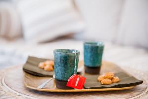 Tè e biscotti per una piacevole pausa - Casa vacanze Tre Casiedde