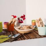 Pane, biscotti e trecce pugliesi... tutto per la tua colazione o aperitivo da noi!