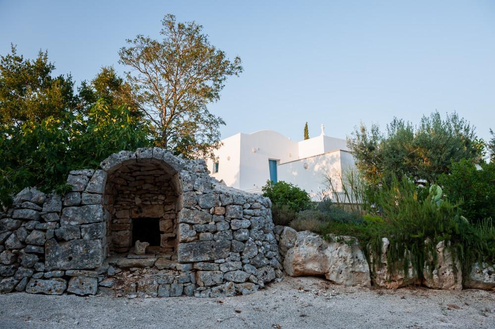 Un dettaglio degli ambienti esterni nella nostra casa vacanze in Puglia